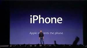 steve jobs powerpoint template - macworld san francisco 2007 iphone apple inc steve