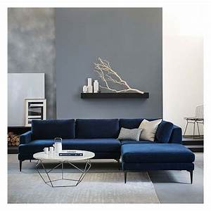 west elm andes set 4 right arm 2 seater sofa ottoman With gray sectional sofa west elm