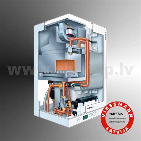 Gāzes kondensācijas apkures katli- Viessmann Vitodens 111-W (19-35kw) B1LD