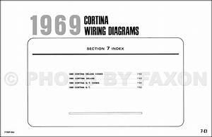 1973 Ford Cortina Wiring Diagram Original
