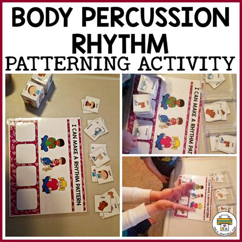What age can a child get a debit card? Body Percussion Rhythm Patterning - Pre-K Printable Fun