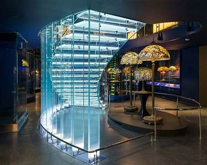 Jiricna Tiffany Eva Glass Architecture Buildings Staircase