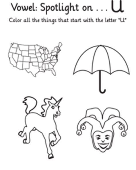 letter u worksheets for kindergarten preschool and 456 | free learning vowels the alphabet letter for kindergarten 240x300