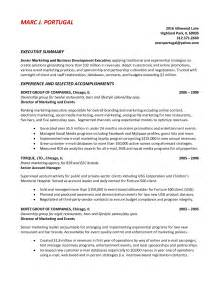 Professional Summary Exles For Marketing Resume by Professional Summary Exles For Marketing Resume Bongdaao
