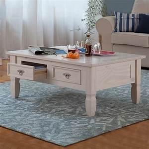 Beistelltisch Weiß Landhaus : couchtisch massivholz kiefer wei lasiert beistelltisch ~ Watch28wear.com Haus und Dekorationen