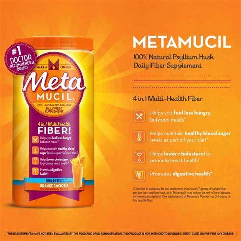 Amazon.com: Metamucil Daily Fiber Supplement, Orange