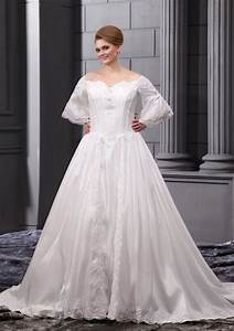 Cheap plus size wedding dresses with sleeves iris gown for Plus size wedding dresses cheap