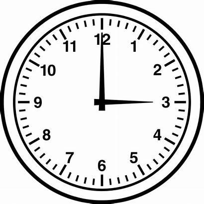 Clock Clipart Past Three Half Five Clip