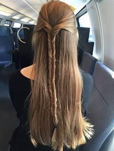 Coiffure Simple Femme : coiffure facile formidable coupe de cheveux femme coiffure simple ~ Melissatoandfro.com Idées de Décoration