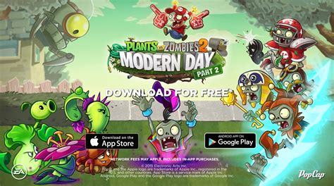image modern day part 2 poster png plants vs zombies