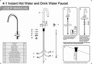 China Customized Hot Water Tap 4 In 1 With Diy