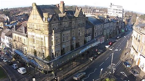 Harrogate, England, Spa Town, Tea, Drone - YouTube