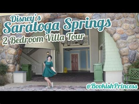 disney s saratoga springs 2 bedroom villa tour