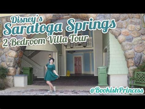 Disney's Saratoga Springs  2 Bedroom Villa Tour Youtube