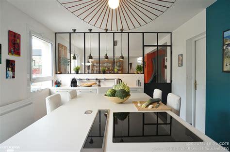 cuisine en verriere une cuisine modernisée avec une verrière en bonus