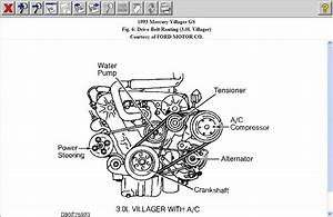 1990 Ford Drive Belt Diagram