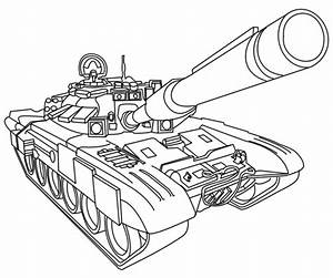 Army Tanks Coloring Pages - Coloring Home
