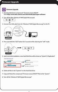 Edu Science Ms079 Wireless Ip Wifi Digital Microscope User