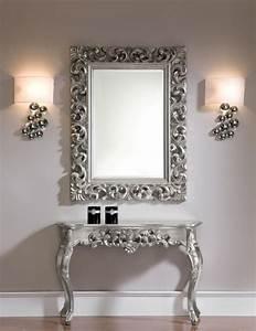 Wandspiegel Silber Antik : wandkonsole silber wandspiegel antik frisieur flurpiegel barock konsolentisch eur 549 90 ~ Watch28wear.com Haus und Dekorationen
