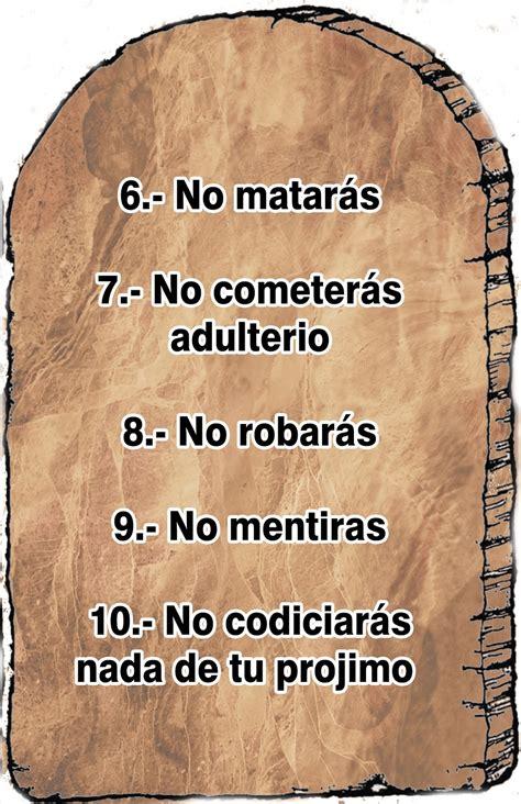 Recurso para la clase - Los diez Mandamientos ~ EBI Mexico