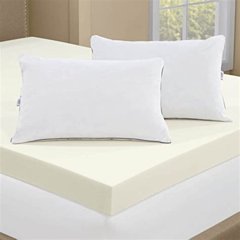 4 memory foam mattress topper serta 4 inch memory foam mattress topper with 2 memory