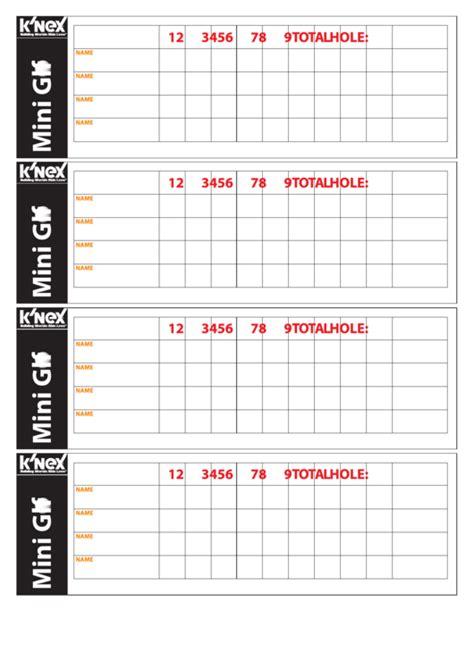top  golf scorecard templates      format