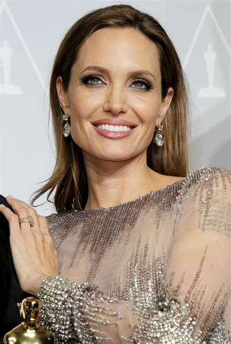 ANGELINA JOLIE at 86th Annual Academy Awards in Hollywood ...