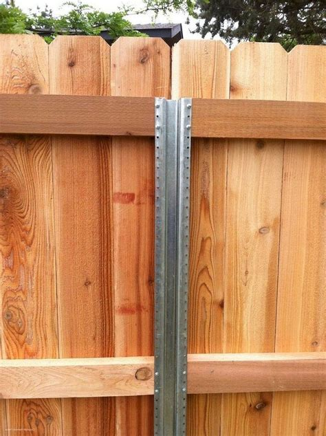 diy backyard privacy fence design ideas metal