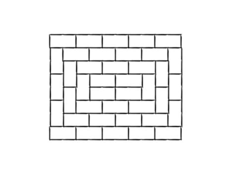 running brick pattern brick patterns landscaping network
