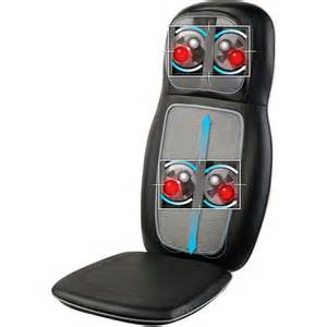 homedics sbm 500h massage cushion chairs with heat ebay