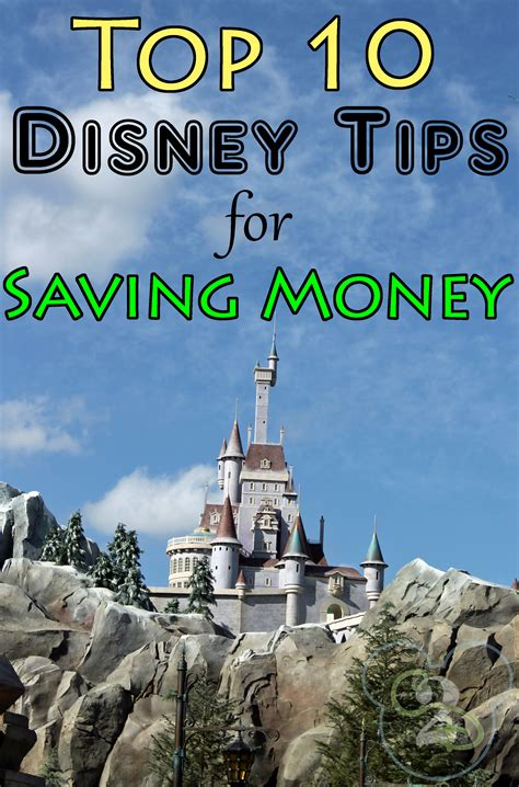 Top 10 Ways To Save On The Overall Cost Of Your Disney Trip