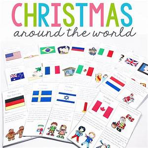 Christmas Around The World : holidays christmas around the world unit and mini books education to the core ~ Buech-reservation.com Haus und Dekorationen