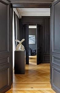 les 25 meilleures idees concernant portes noires sur With idee couleur couloir entree 4 comment habiller les murs dun couloir et dun hall dentree