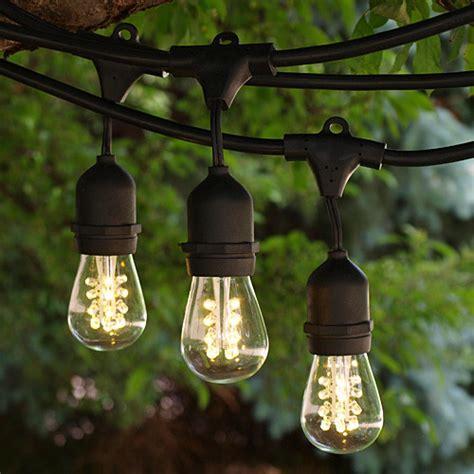 100 39 Black Commercial Grade Medium String Lights With