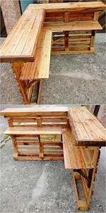 Bar Aus Holzpaletten : interesting ideas of old wood pallet recycling home ~ A.2002-acura-tl-radio.info Haus und Dekorationen