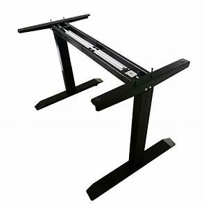 Intbuying Manual Black Adjustable Base Height Sit