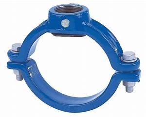 Collier De Fixation Tube Acier : collier de prise en fonte pour tuyaux fonte acier pvc pe ~ Melissatoandfro.com Idées de Décoration