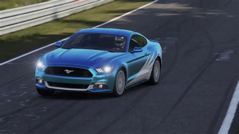 2015 Mustang Gt Nurburgring Time 2015 ford mustang gt forza 6 n 252 rburgring nordschleife