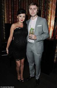 James Buckley's pregnant girlfriend Clair Meek attends The ...