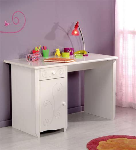 bureau blanc fille bureau blanc brillant blanc