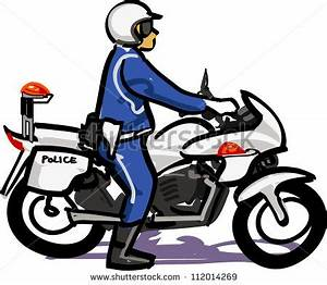 Police clipart police motorcycle - Pencil and in color ...