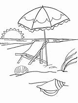 Sunset Beach Coloring Printable sketch template