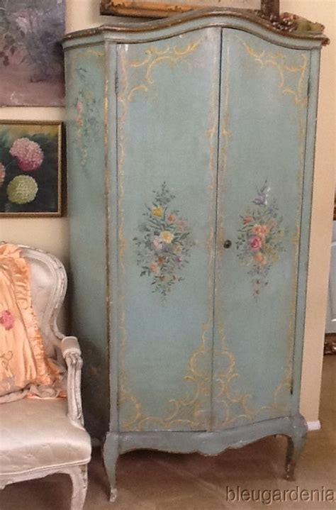 Painted Armoire Furniture 17 Best Ideas About Antique Wardrobe On