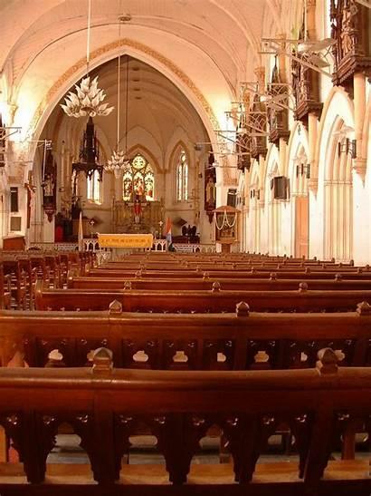 Church Santhome Chennai Basilica India Cathedral Inside