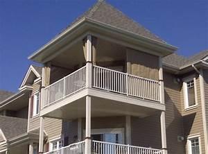 Rideau Pour Balcon : store de balcon gallery of stores desente verticale sun ~ Premium-room.com Idées de Décoration