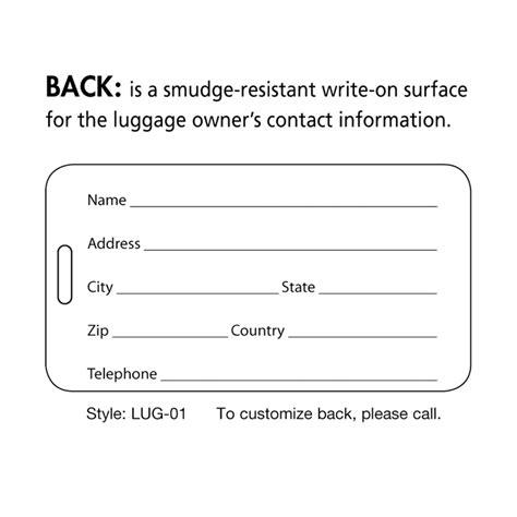 luggage tag template peerpex