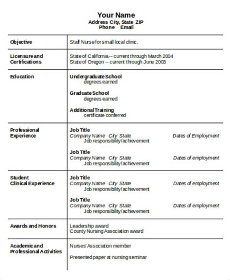 resume format nursing resume ixiplay free resume sles
