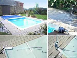 Bache A Barre Pour Piscine : bache piscine 7 x 4 ~ Nature-et-papiers.com Idées de Décoration