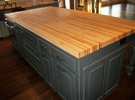 borders kitchen solid american hardwood island