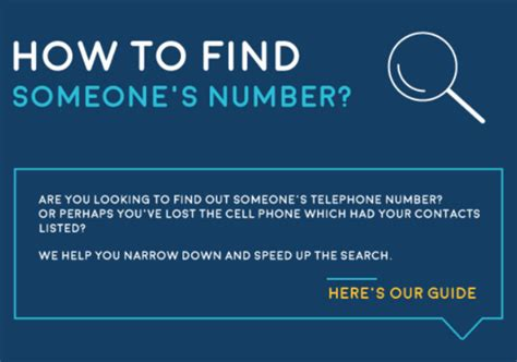 How To Find A by The Definitive Guide How To Find Someone S Phone Number